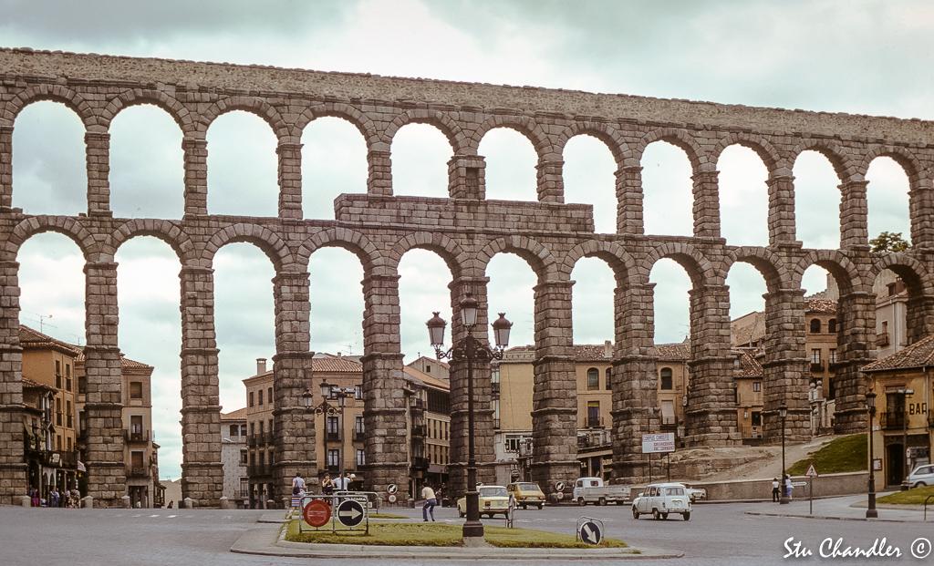 Spain - Segovia - Aqueduct (1982)