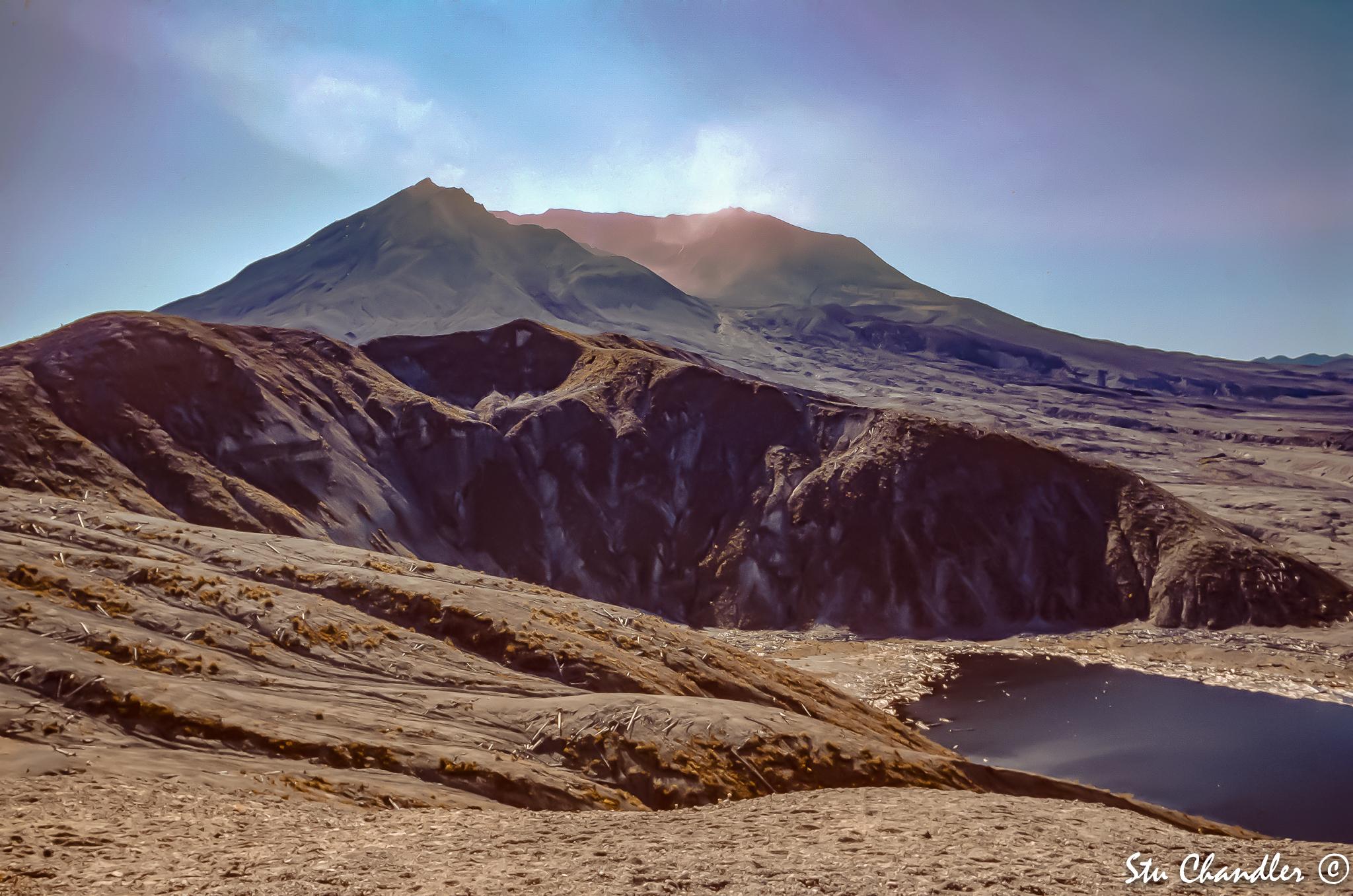 USA - Washington - Mt St Helens (1991)