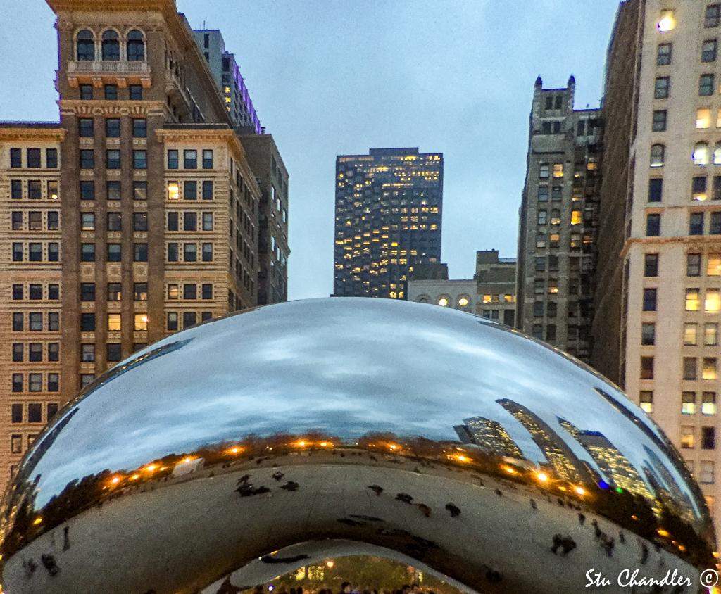USA - IL - Chicago Cloud Gate (2015)