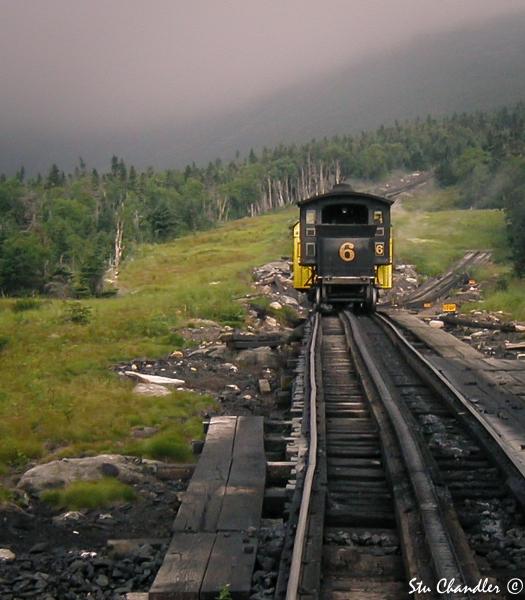 USA - New Hampshire - Mt Washington Cog Railway (2001)