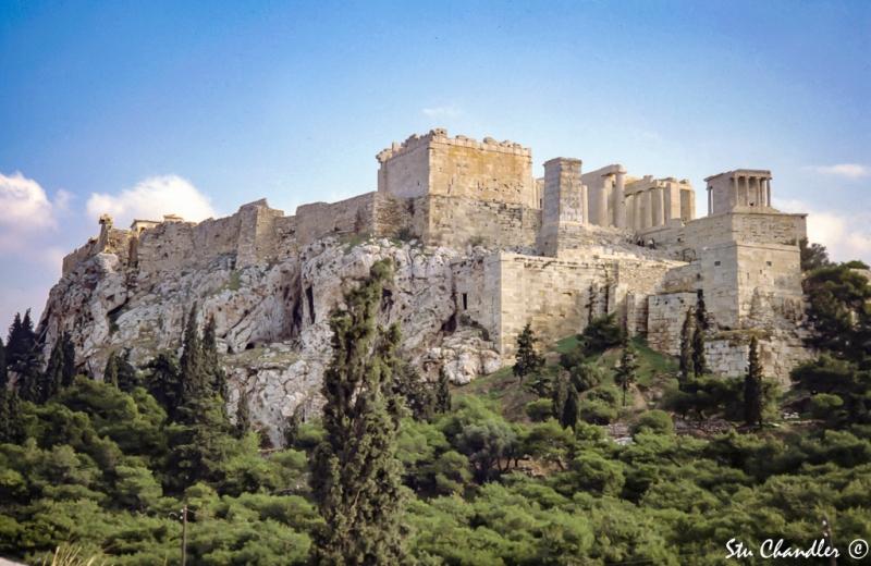 Greece - Athens - Acropolis (1978)